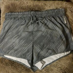 Athletic workout shorts RBX gray